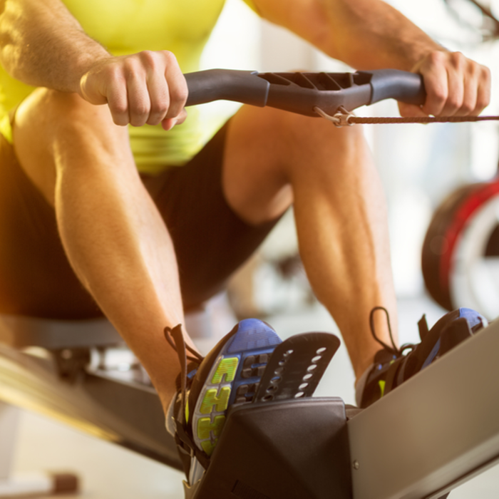 Are you only using the rowing machine to warm up? You're missing out!