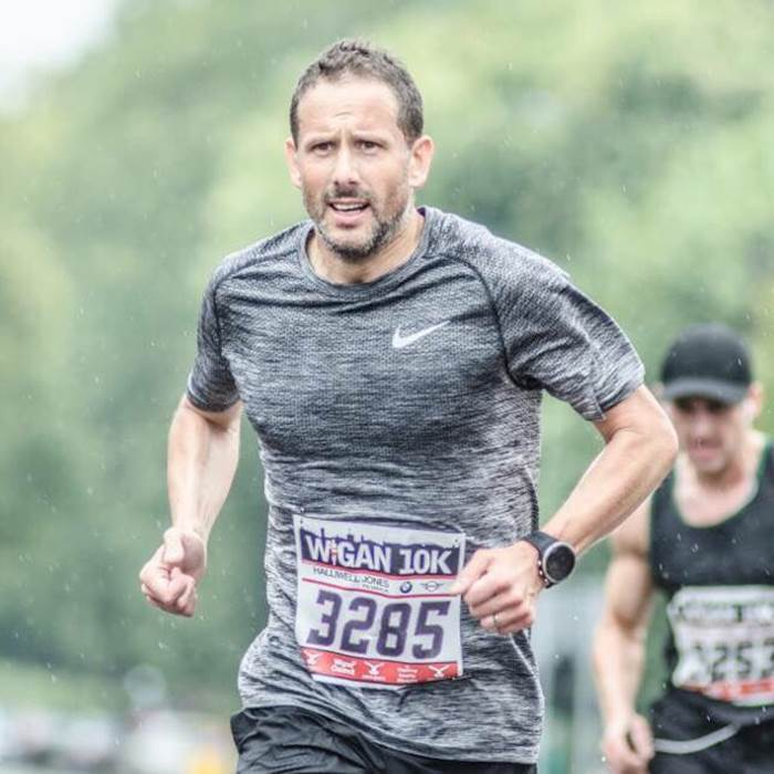 We speak to Gary Morton after his marathon-a-day challenge