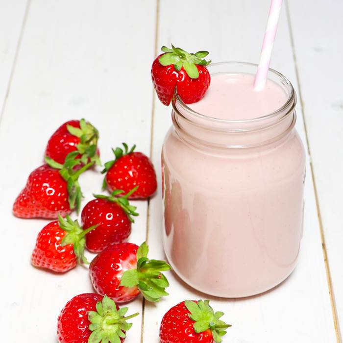 A perfect Wimbledon recipe: Strawberries and cream smoothie