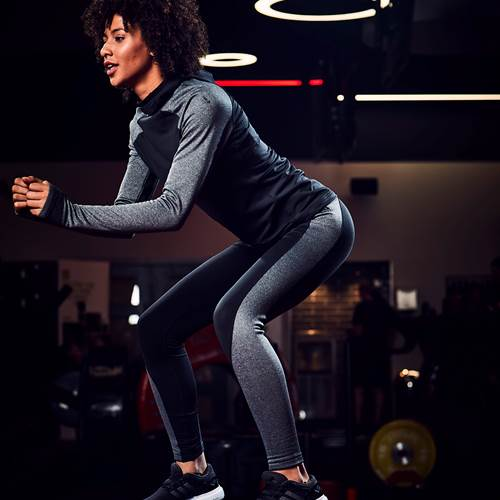 "Women's Tights ""We love high waistband capri tights for extra waistline coverage. Ideal for bending and stretching."""