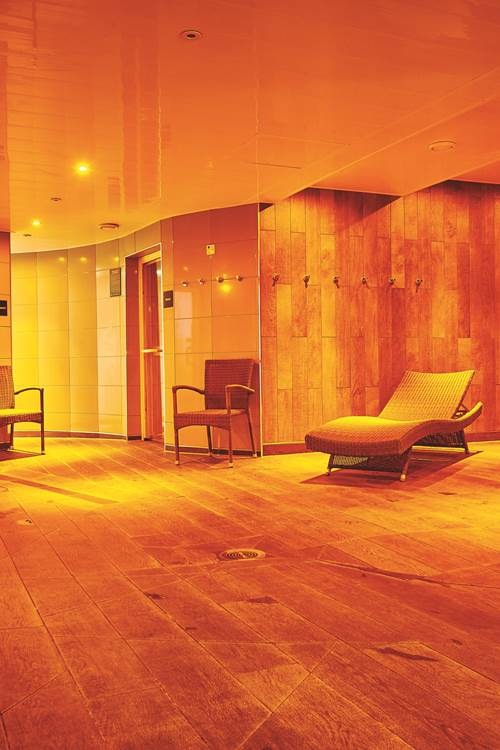 Sauna Fitness And Massage Room Spa In Cluj: Get A Free DW Fitness First Guest Pass